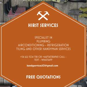 I can recommend: K&G services